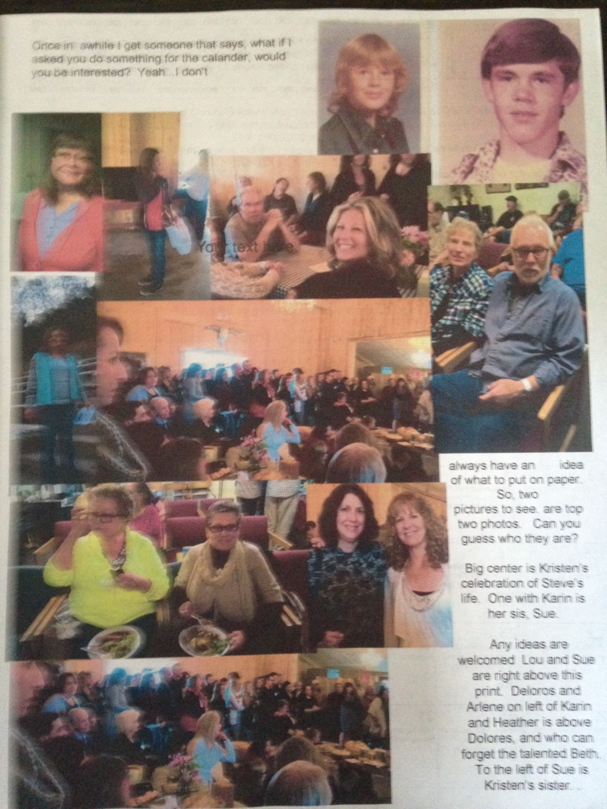 Jamestown Christian Fellowship May 2016