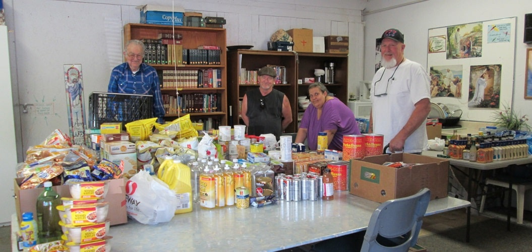 Food Pantry Wednesdays Noon to 3 PM