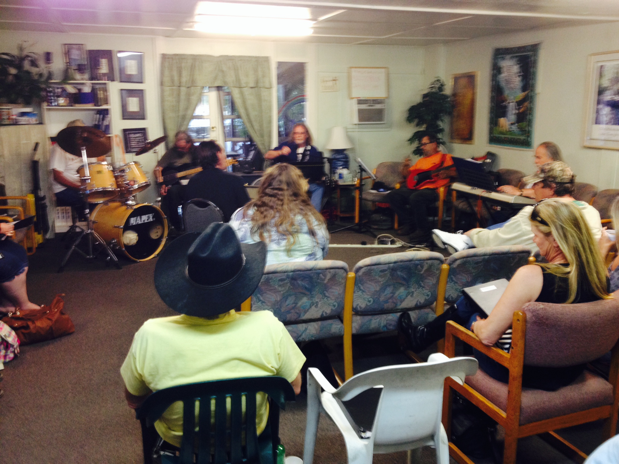 Singing With the Band Thursdays