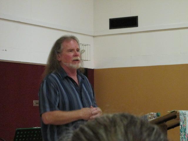 Pastor Robert Rice preaching