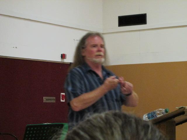 Pastor Robert teaches the scriptures in his sermons