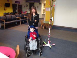 Malachi at Oakland's Children Hospital Chemo Jamestown Christian Fellowship