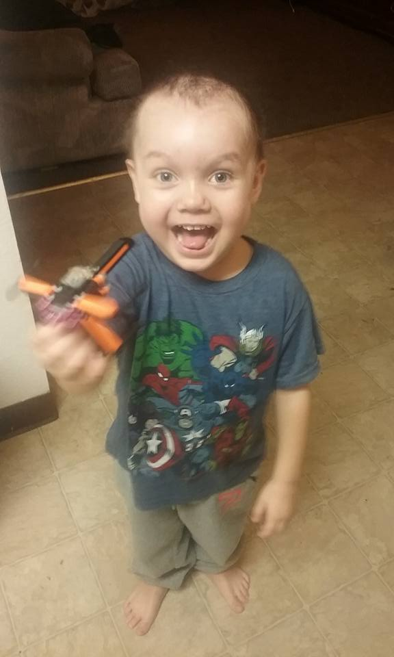 Malachi home feeling better with cancer in remission