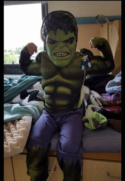 Malachi's Halloween costume hi wished for - Jamestown Christian Fellowship